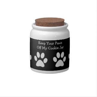Dog Treat Cookie Jar Candy Jar