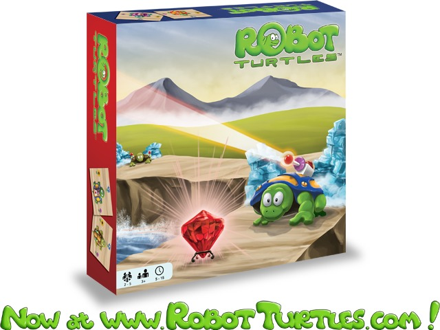 Kickstarter >> Robot Turtles: The Board Game for Little Programmers by Dan Shapiro
