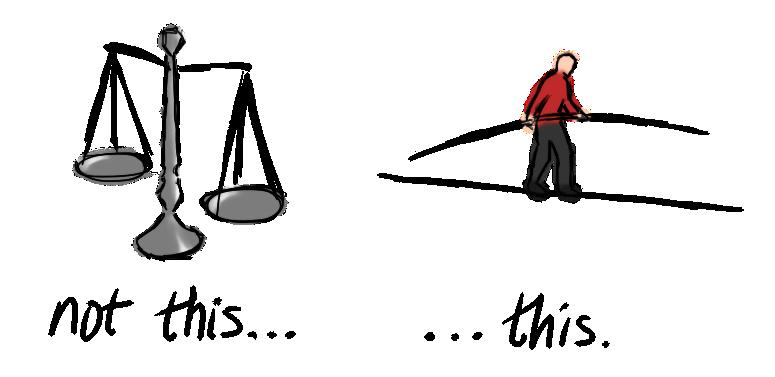 Balancing Act - Made of Metaphors