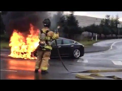 Tesla Fire Sparks Panic Over Company