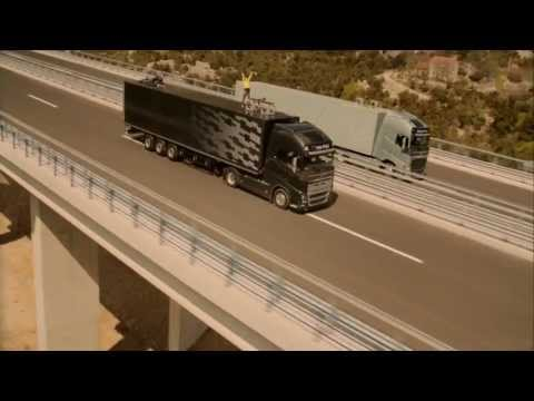 Volvo Trucks - The Ballerina Stunt (Live Test 1)