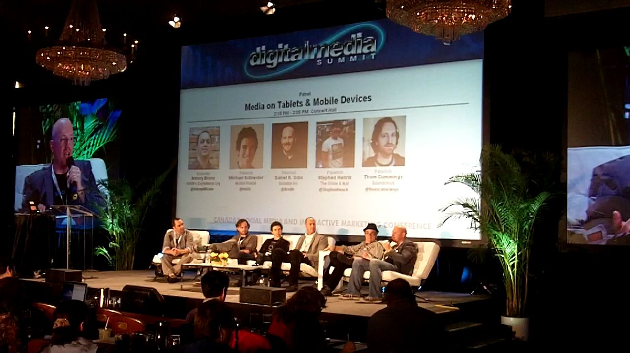 Socialize CEO Daniel Odio on Canadian Music Week Panel: Media on Tablets & Mobile Devices