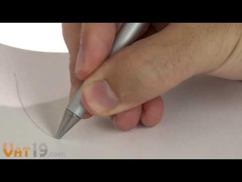 The Inkless Metal Pen literally writes in metal
