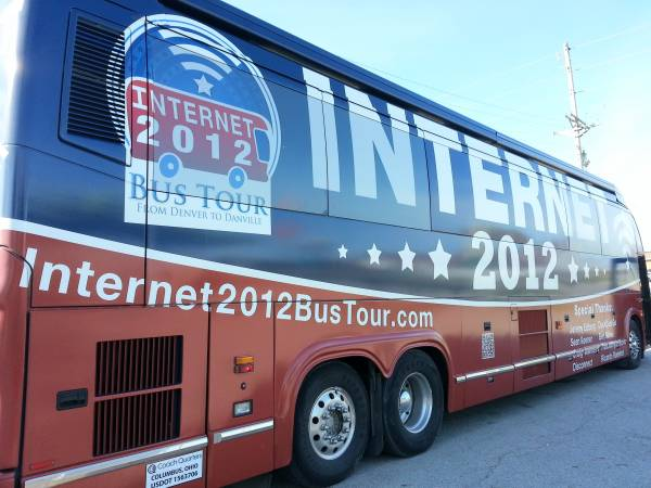 The Internet Freedom Bus