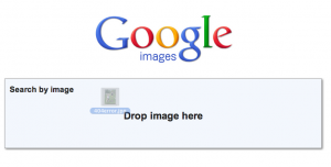 Dragging onto Google Image Search