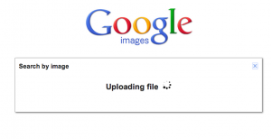 Uploading an image to Google Image Search