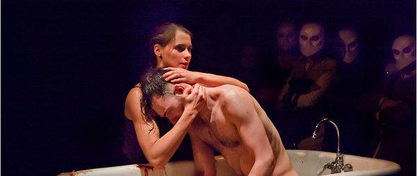 Lady Macbeth & Macbeth in Punchdrunk's