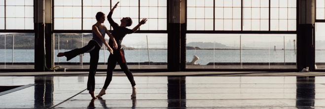 Merce Cunningham Dance Company rehearses an Event, Photo: Tacita Dean