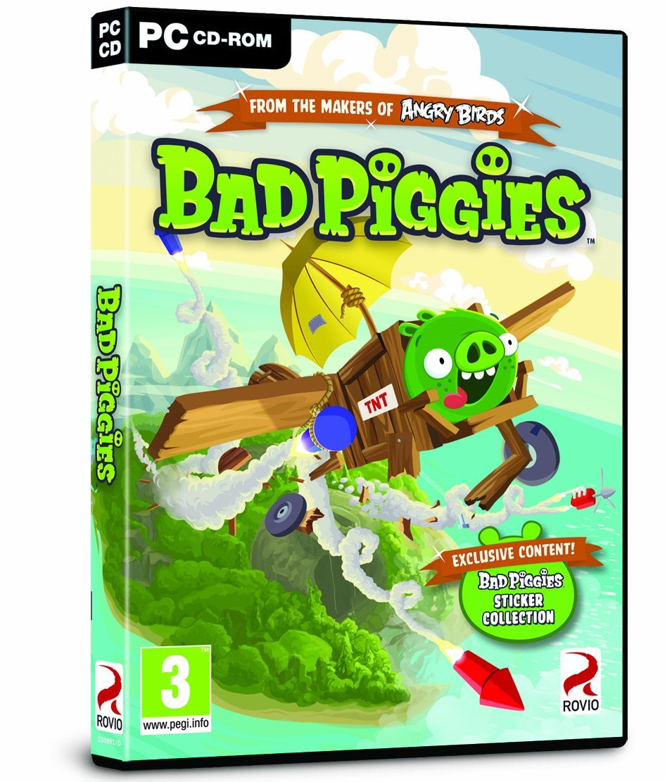 Angry Birds Bad Piggies Include Patch Full Version Free Download Logo