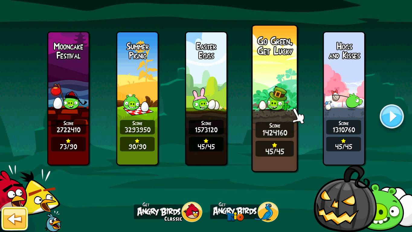 Download Angry Birds Seasons - latest version