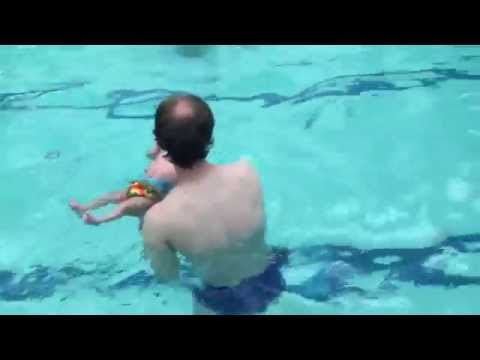 Max swimming