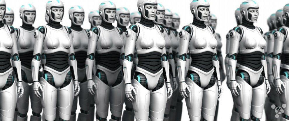 Take a look at your work high high risk being replaced by robots?