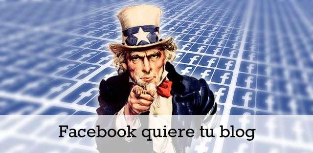 promocionar un blog desde facebook