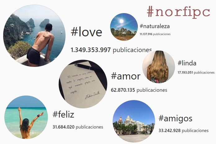 Uso hashtgs adecuados instagram