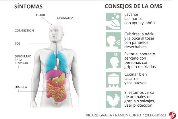 Sintomas y consejos infeccion por coronavirus